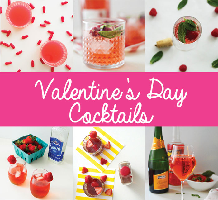 Valentine's Day Cocktails Roundup | dcgirlinpearls.com