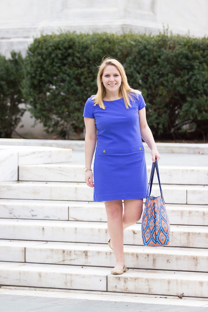 Lilly Pulitzer Layton Shift Dress for Work via @ DC Girl in Pearls | dcgirlinpearls.com