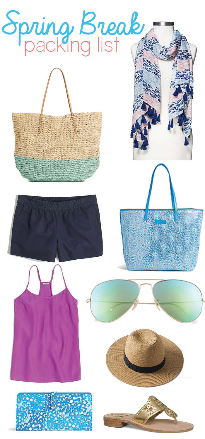 Spring Vacation Style Essentials via @ DC Girl in Pearls | dcgirlinpearls.com