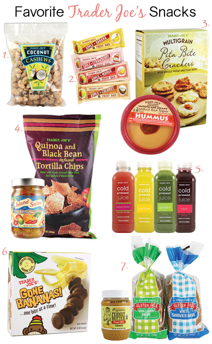 Favorite Trader Joe's Snacks for healthy snacking via @DC Girl in Pearls | dcgirlinpearls.com