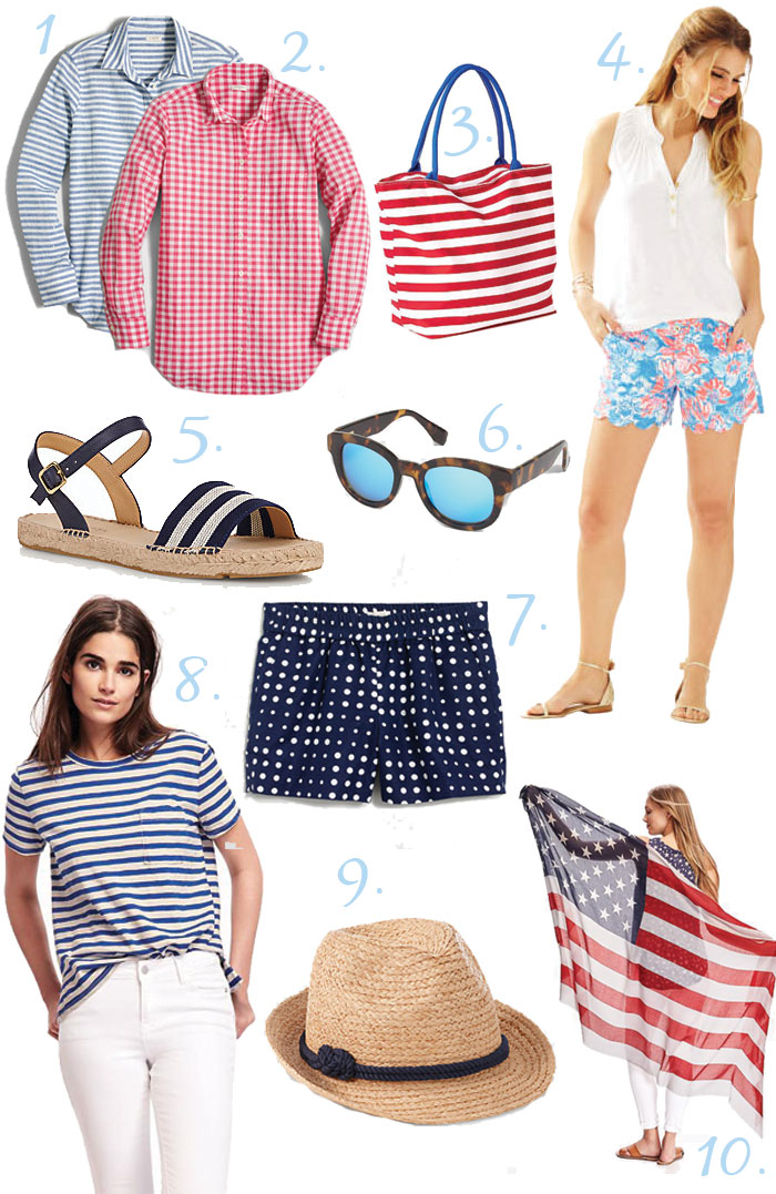 4th of July Outfit Inspiration via @ DC Girl in Pearls | dcgirlinpearls.com