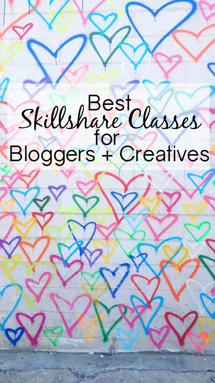 Best Skillshare Classes for Bloggers + Creatives via @ DC Girl in Pearls | dcgirlinpearls.com