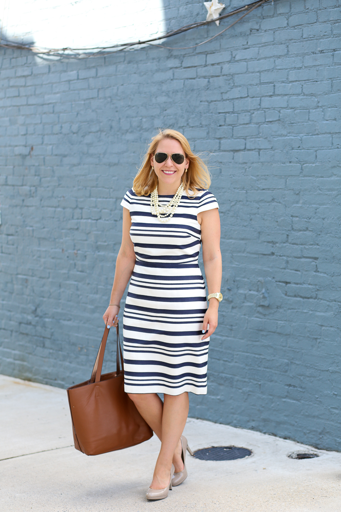 JCrew-Factory-Striped-Cap-Sleeve-Dress