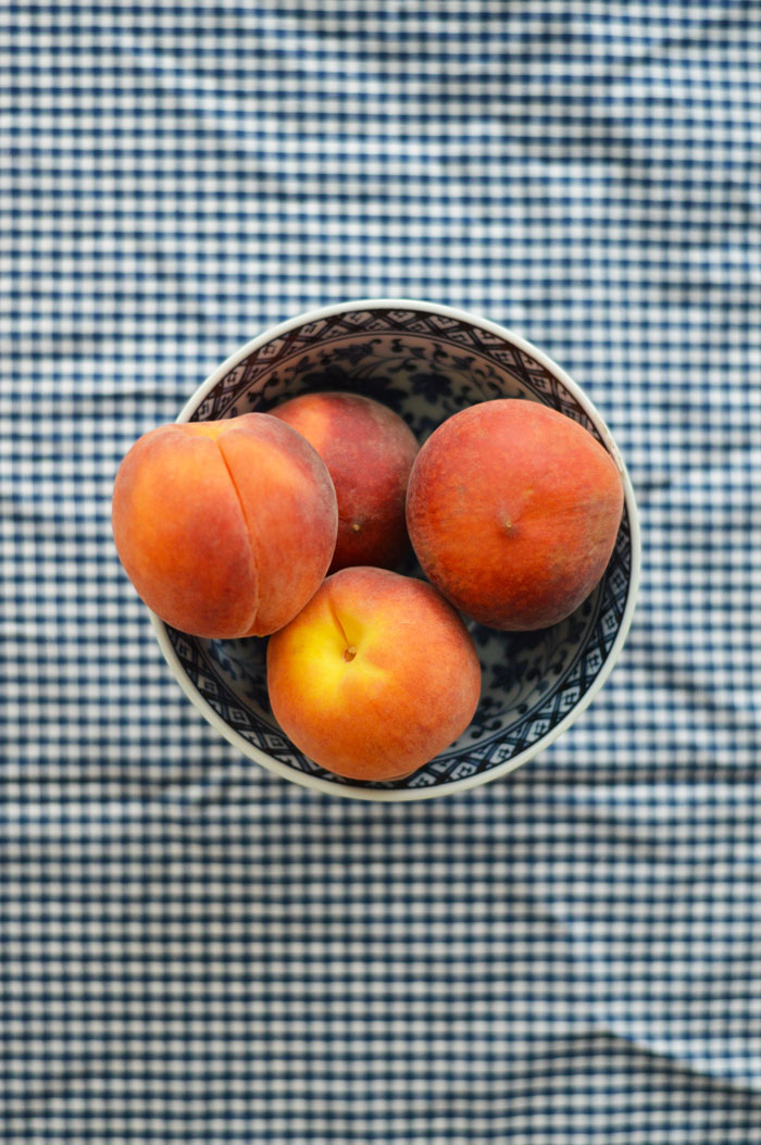 Peaches-In-A-Bowl