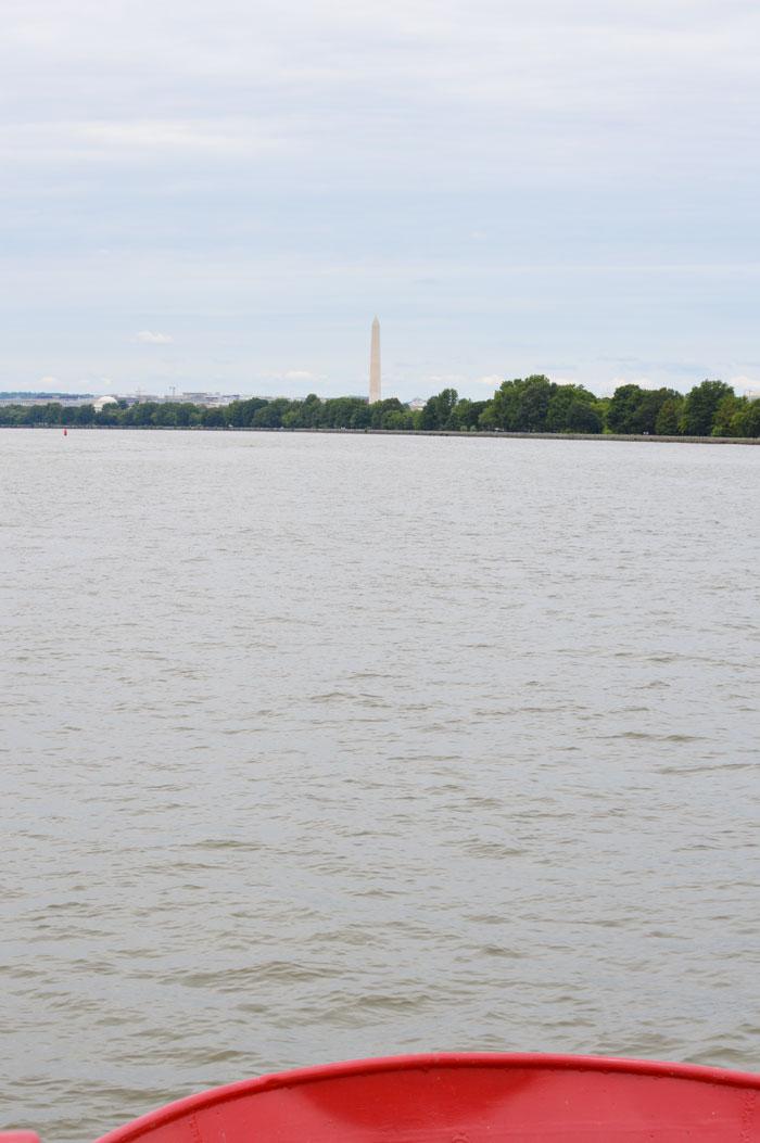 Washington Monument from Potomac