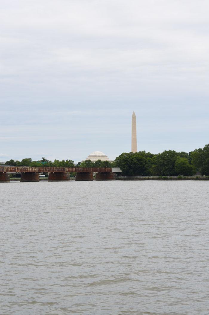 Washington and Jefferson Memorials