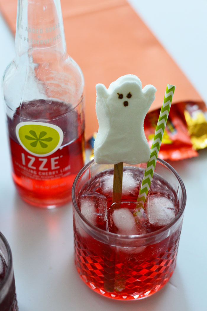 Cherry Lime Gin Rickey | dcgirlinpearls.com