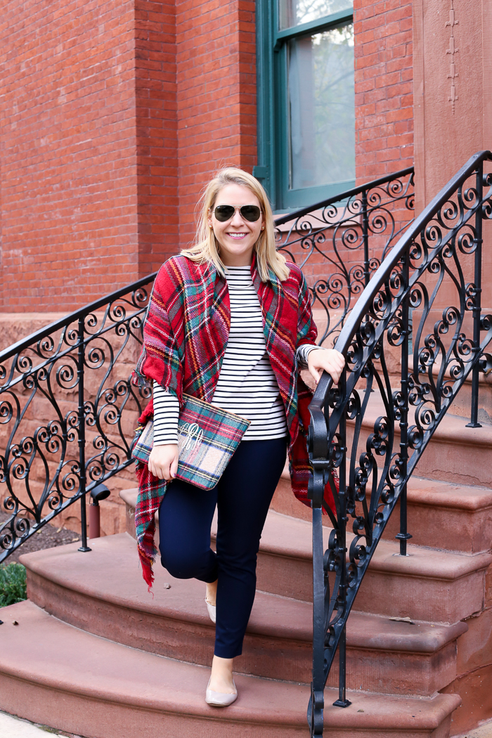 Plaid and Stripes for Fall | dcgirlinpearls.com