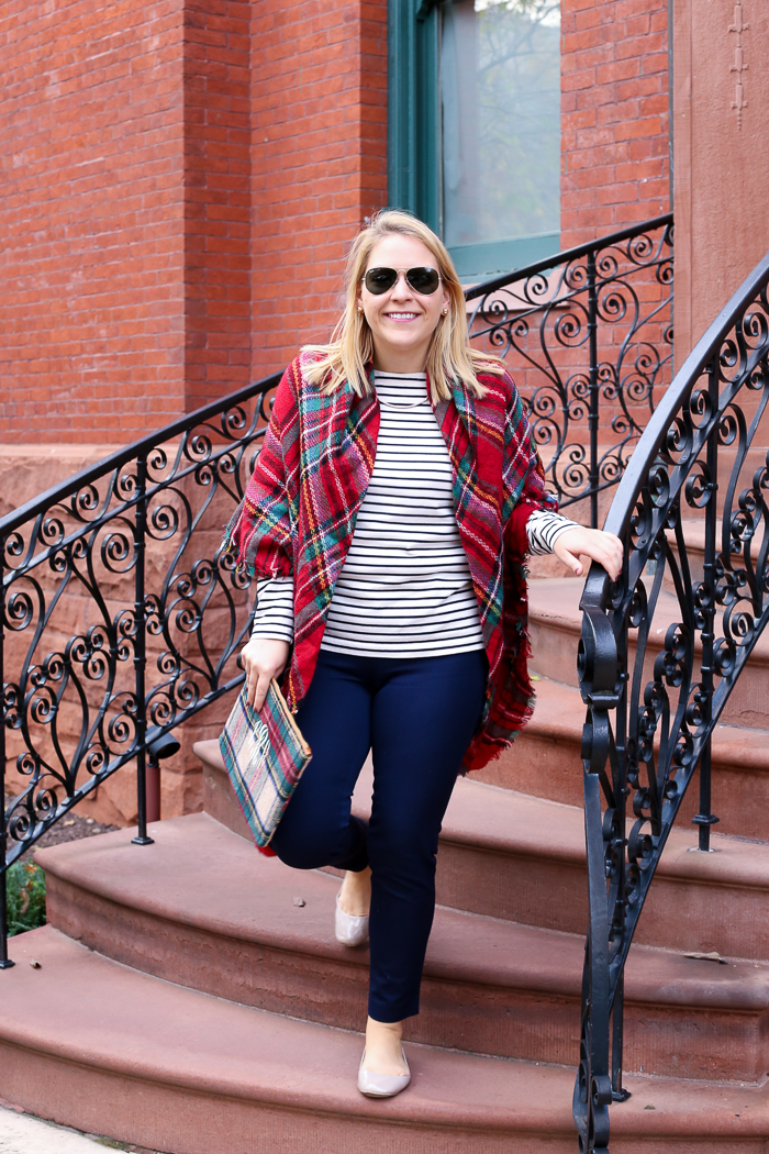 Stripes and Plaid for Fall | dcgirlinpearls.com