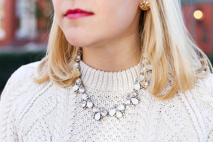 Baublebar Crystal Flurry Collar | dcgirlinpearls.com