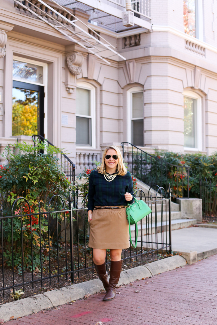 DC Girl in Pearls Thanksgiving Outfit | dcgirlinpearls.com
