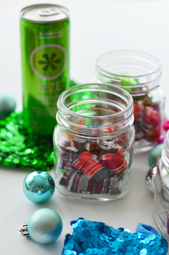 IZZE Soda Can Ornament | dcgirlinpearls.com