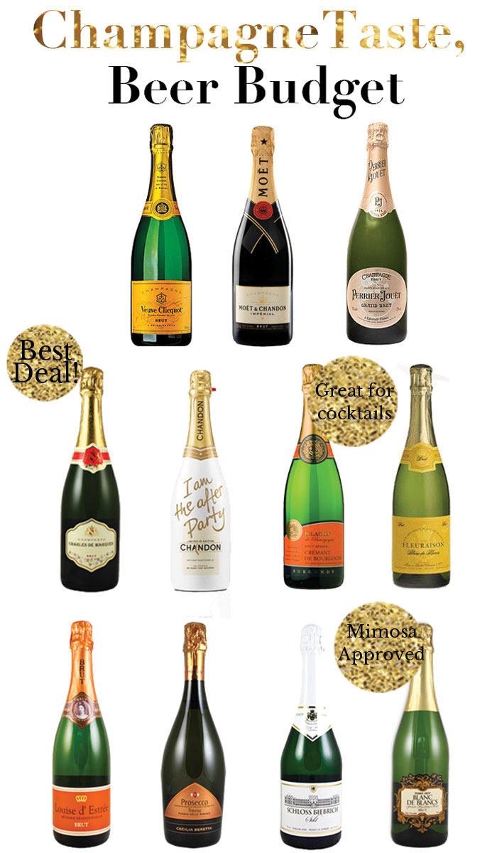 New Year's Eve guide to champagne | dcgirlinpearls.com