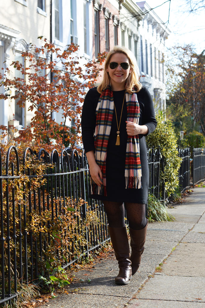 Old Navy Heavy-knit Shift | dcgirlinpearls.com