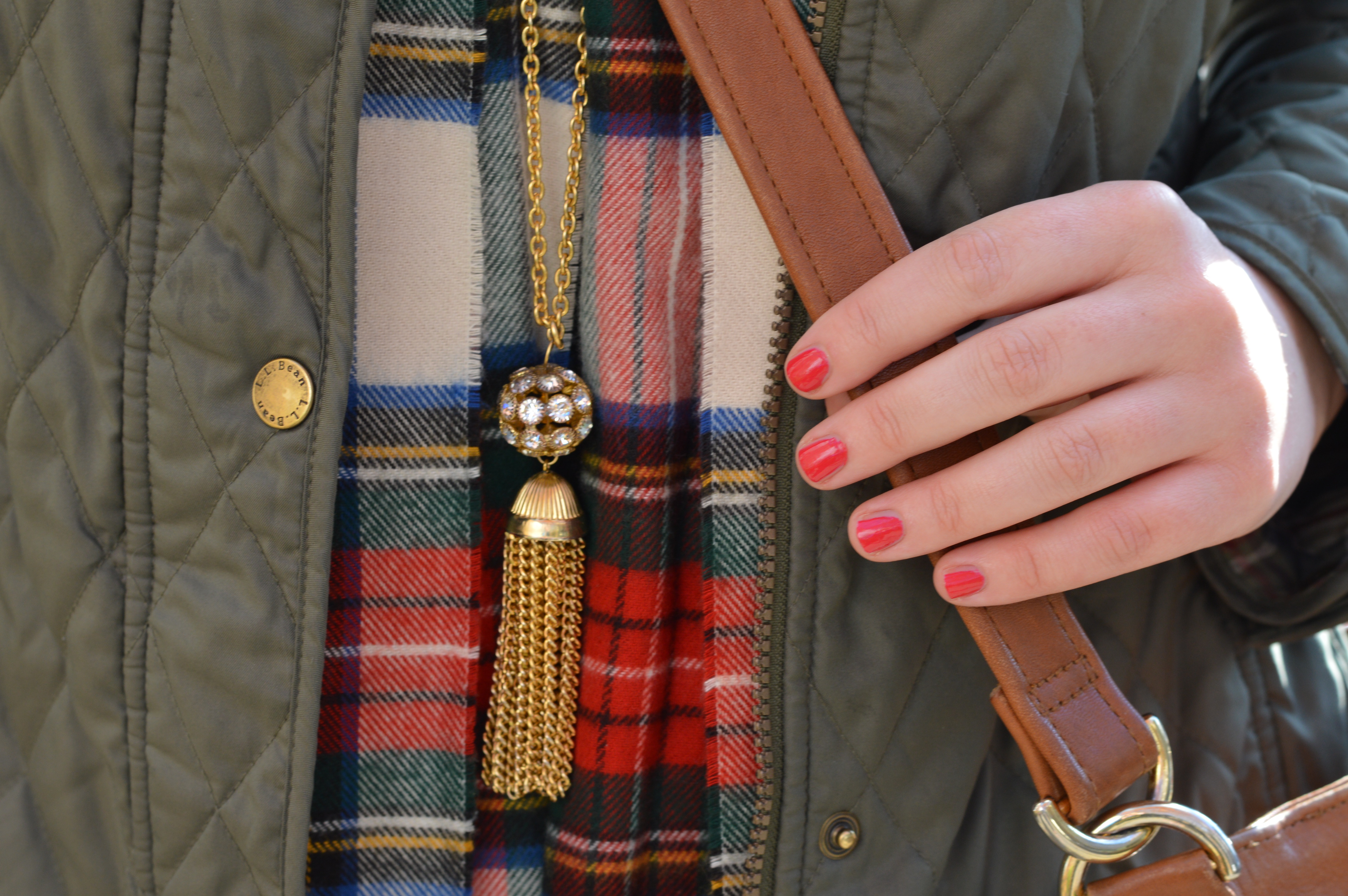 Plaid Scarf | dcgirlinpearls.com