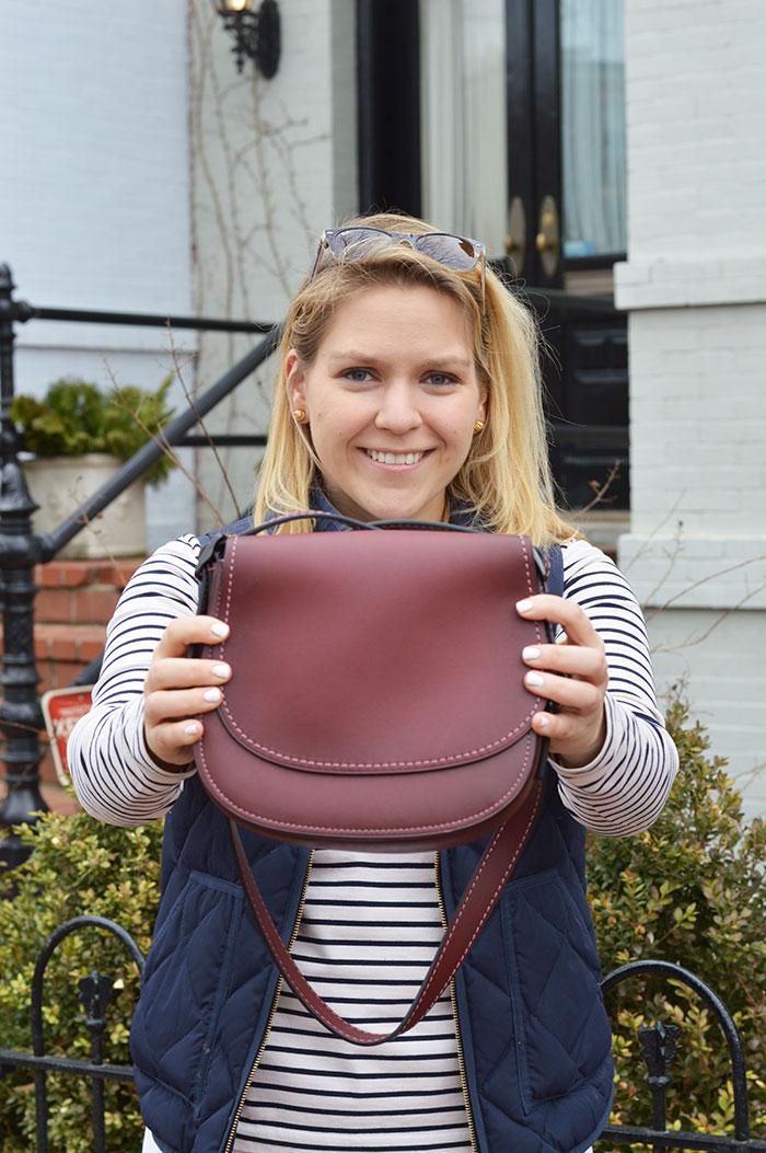 Coach Saddle Bag 23 | dcgirlinpearls.com