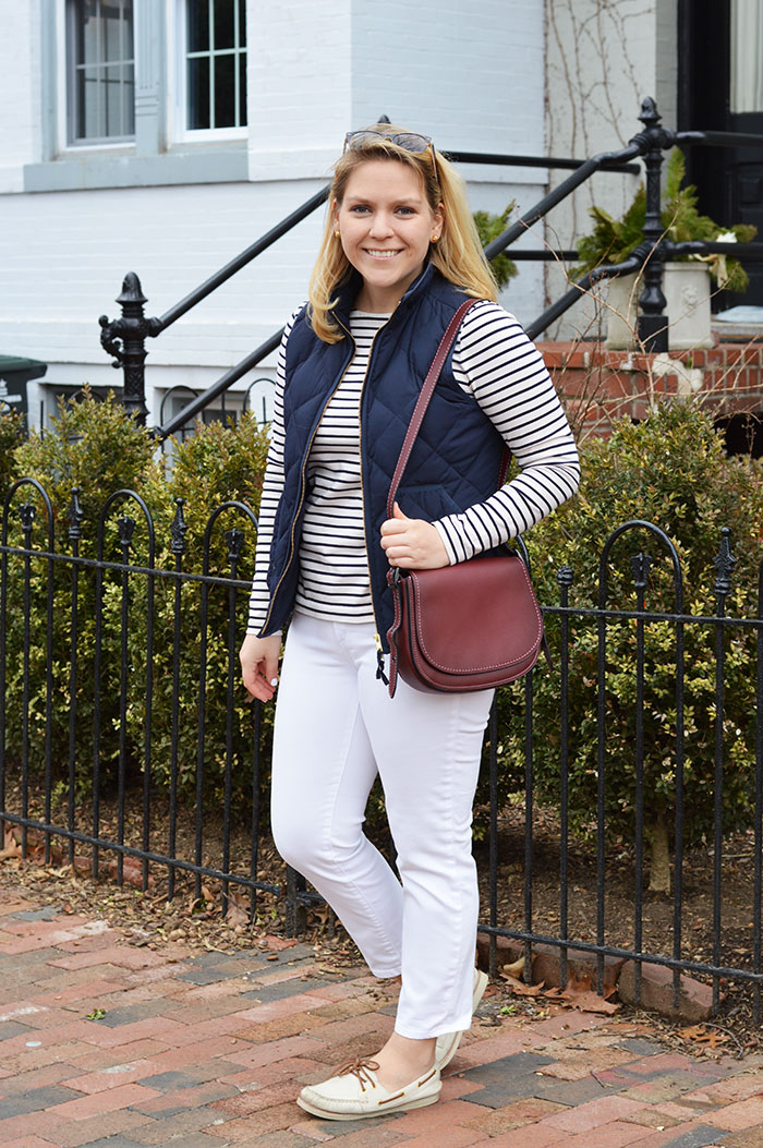 DC Girl in Pearls in Winter White | dcgirlinpearls.com