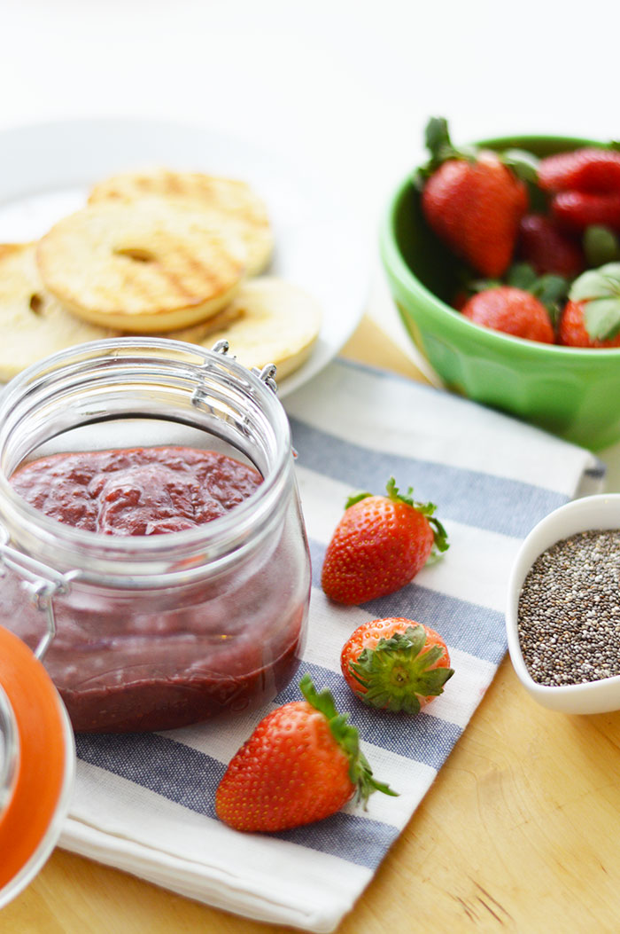 Strawberry Chia Jam | dcgirlinpearls.com
