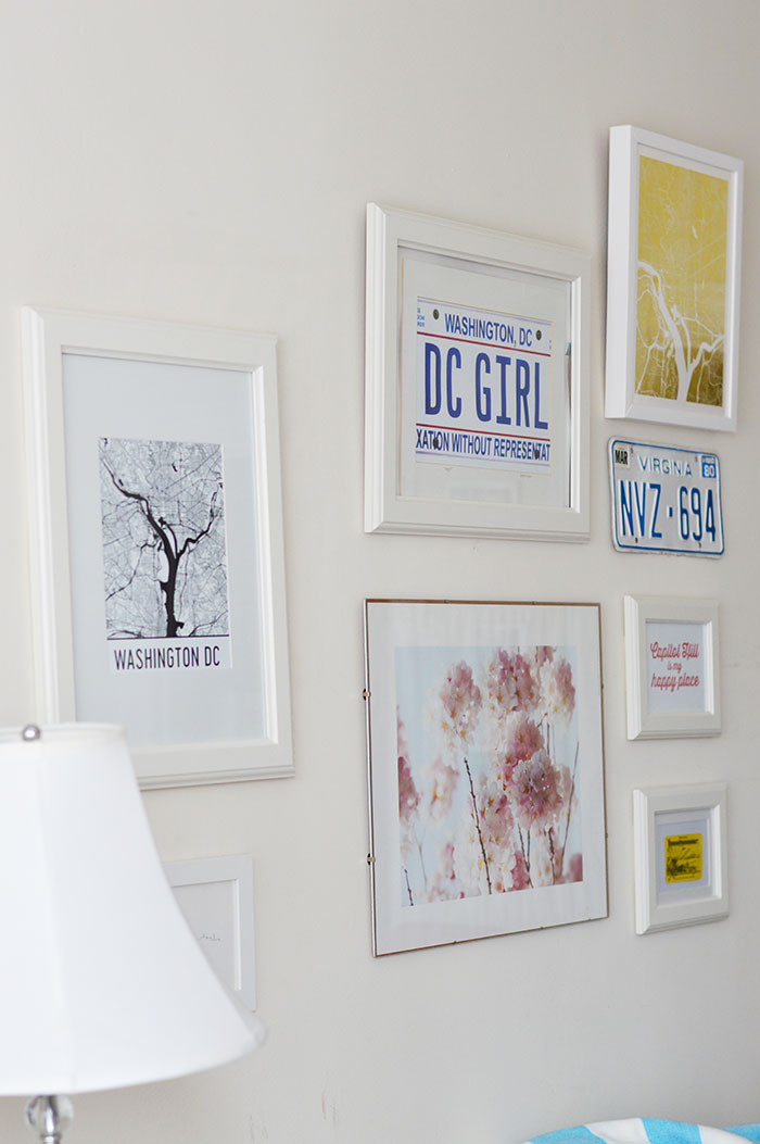 DC Gallery Wall | @dcgirlinpearls