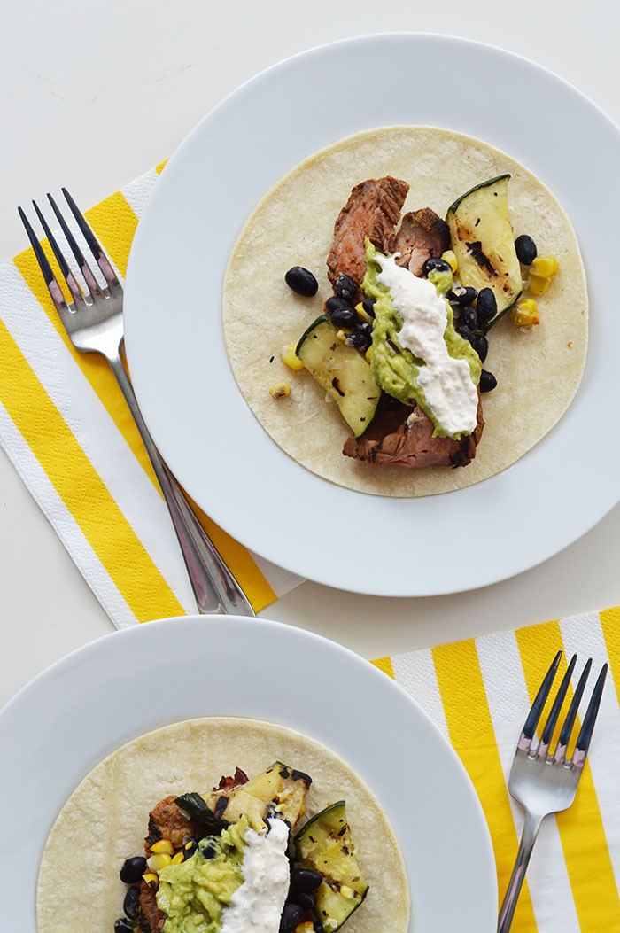 Flank Steak Tacos | dcgirlinpearls.com