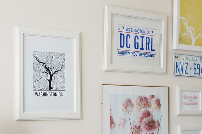 Gallery Wall | @dcgirlinpearls