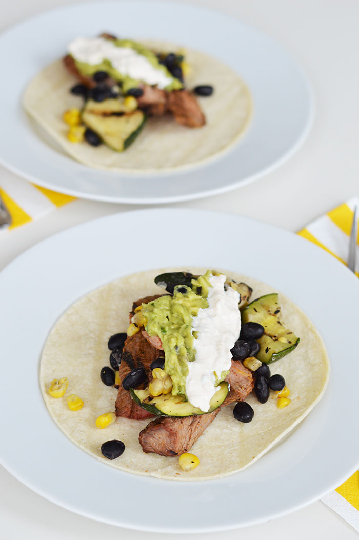 Galley Flank Steak Tacos | dcgirlinpearls.com