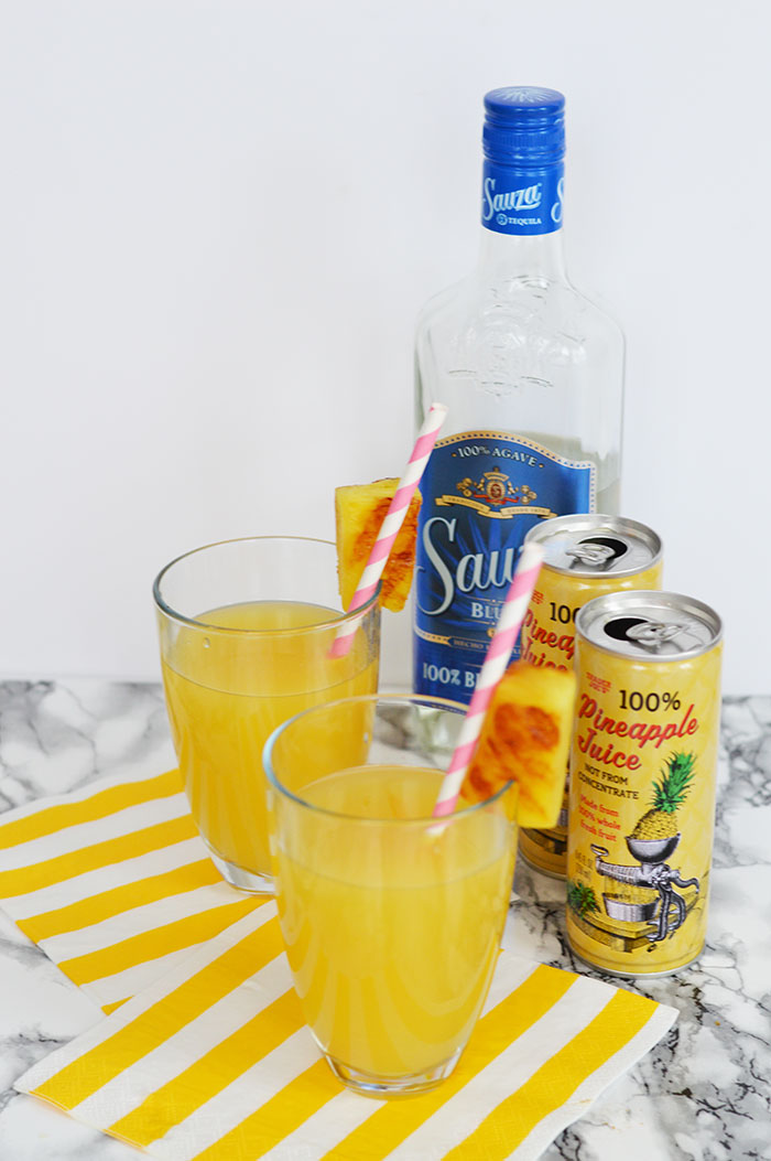 Pineapple Tequila Cooler | dcgirlinpearls.com