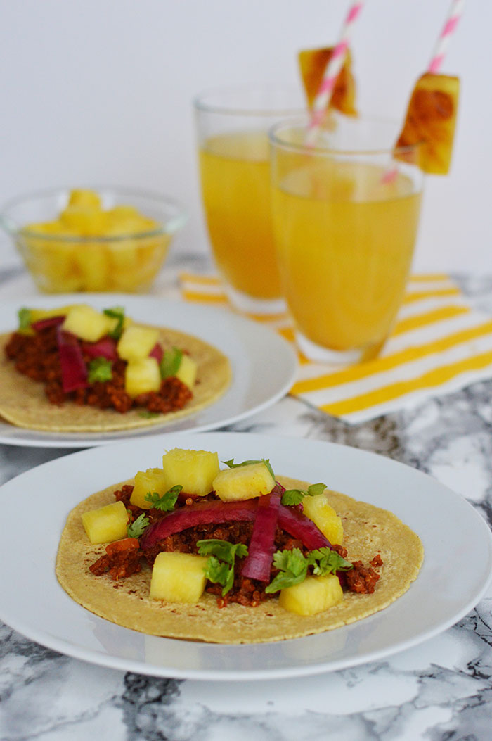 Quinoa Taco Meat | dcgirlinpearls.com