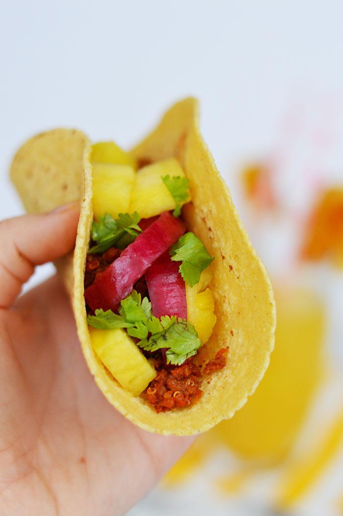 Quinoa Tacos | dcgirlinpearls.com