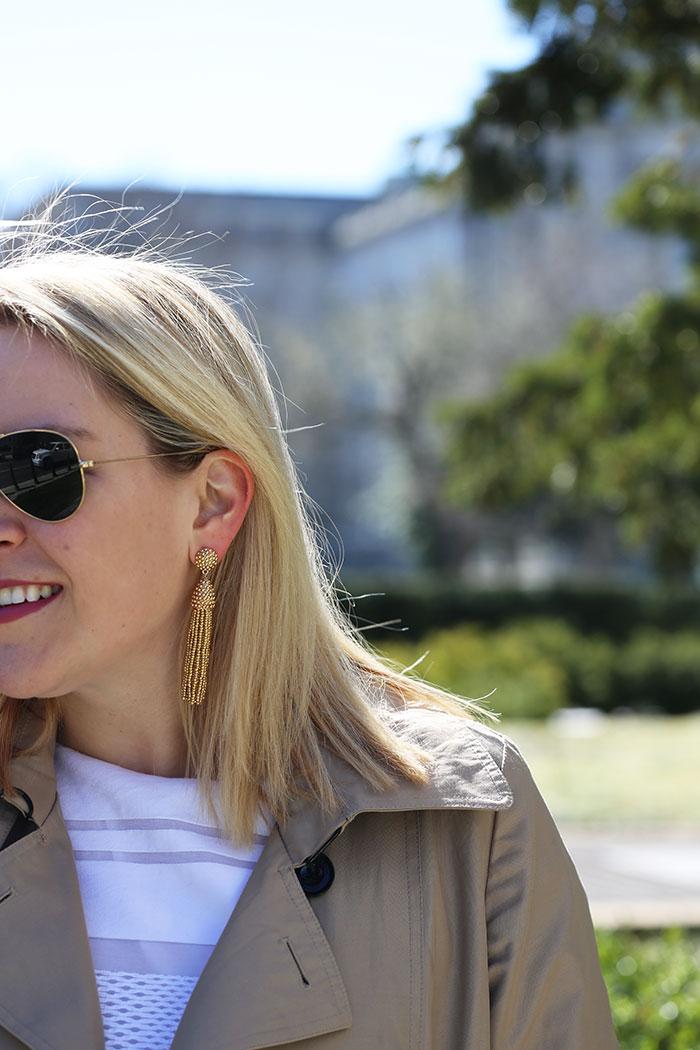 BaubleBar Tassel Earrings | @dcgirlinpearls