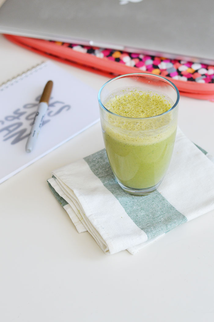 Green Smoothie Recipe | @dcgirlinpearls
