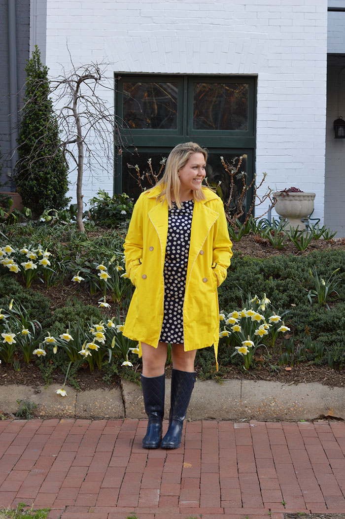 Polka Dot Dress | @dcgirlinpearls