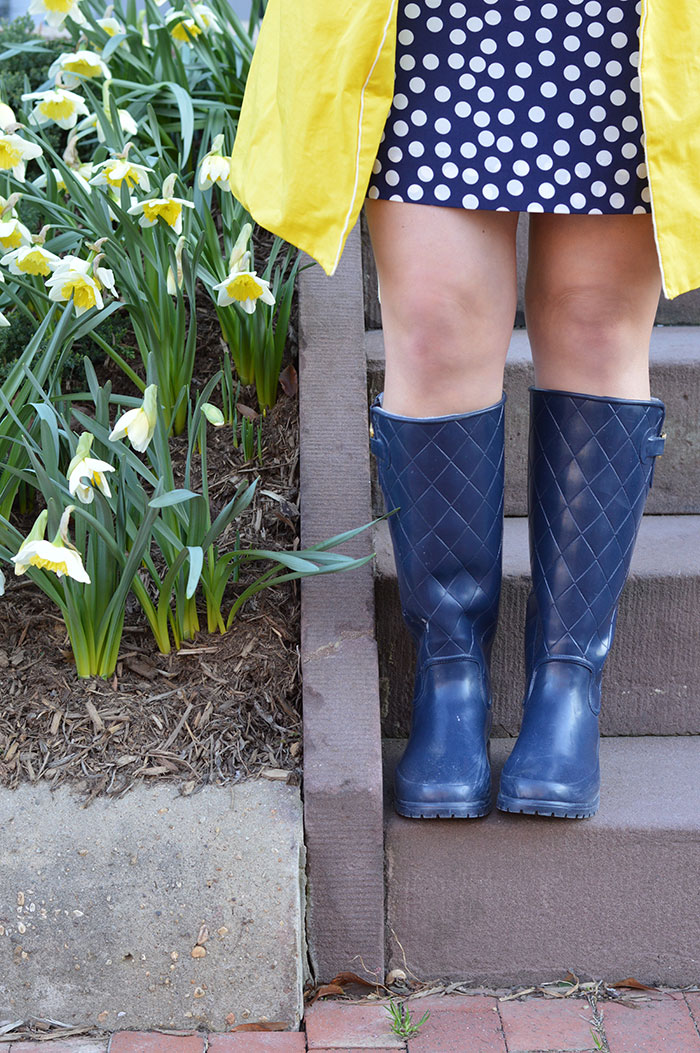 Sperry Rainboots | @dcgirlinpearls