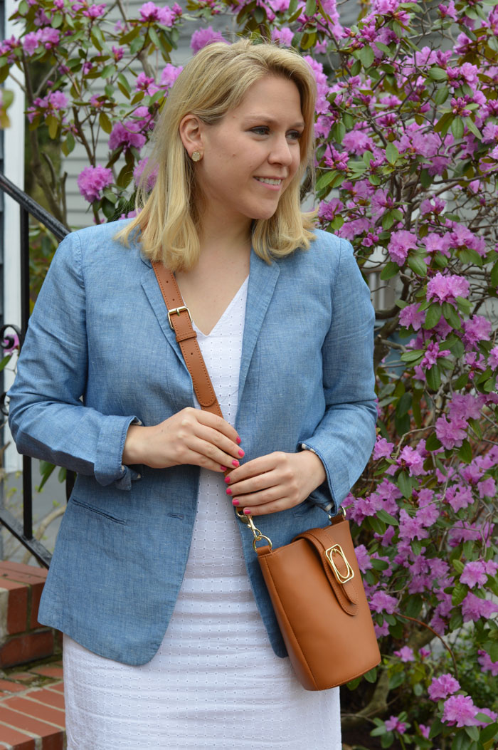 DC Girl in Pearls Summer Work Outfit | @dcgirlinpearls