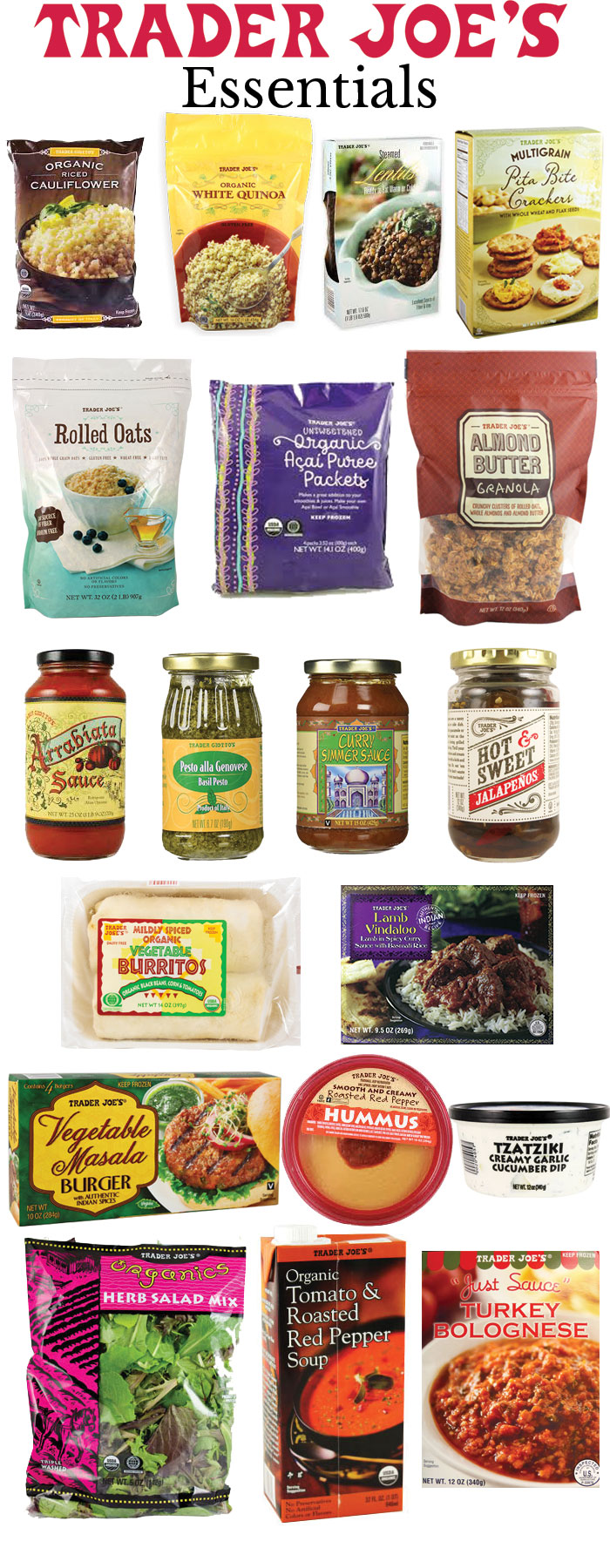 Trader Joe's Essentials | @dcgirlinpearls