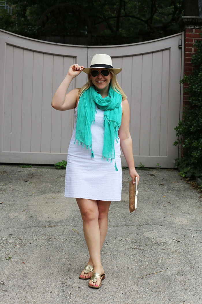 Panama Hat | @dcgirlinpearls