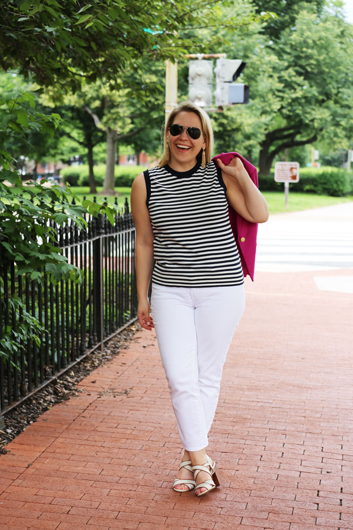 Summer Office Style | @dcgirlinpearls
