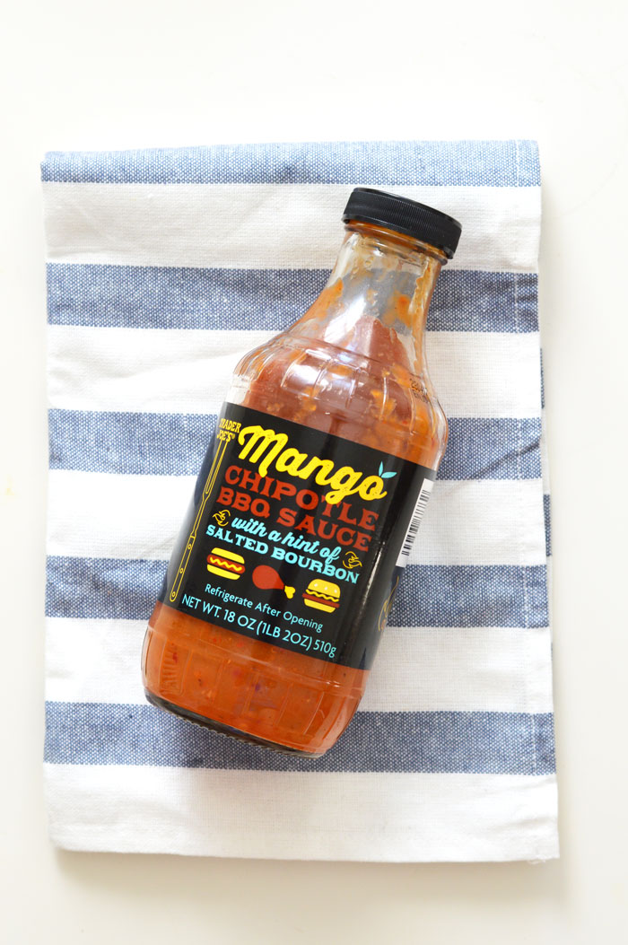 Trader Joe's Mango Chipotle BBQ Sauce | @dcgirlinpearls