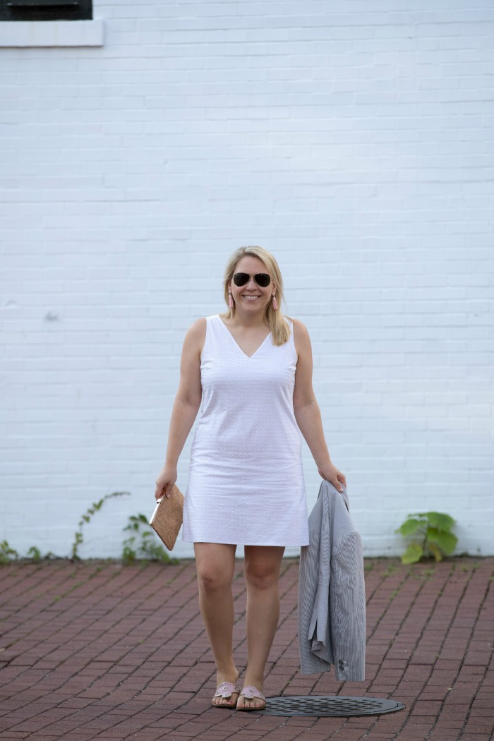 Cute Summer Outfit | @dcgirlinpearls