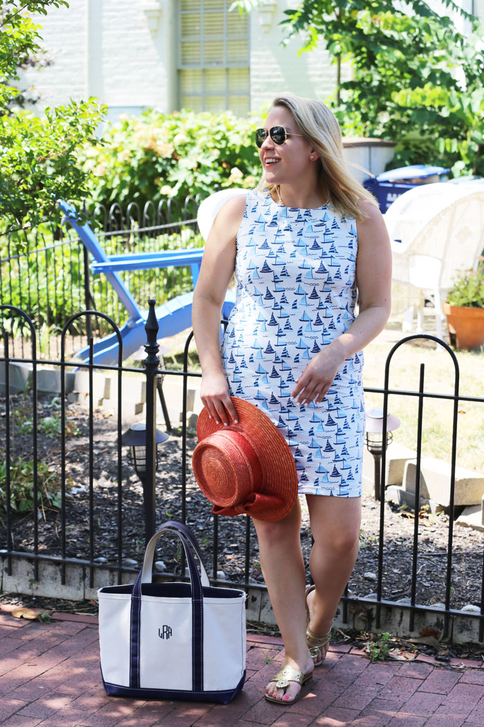 Sailor Sailor Dress | @dcgirlinpearls