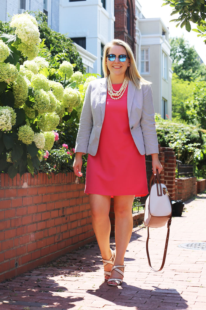 Summer Office Attire | @dcgirlinpearls