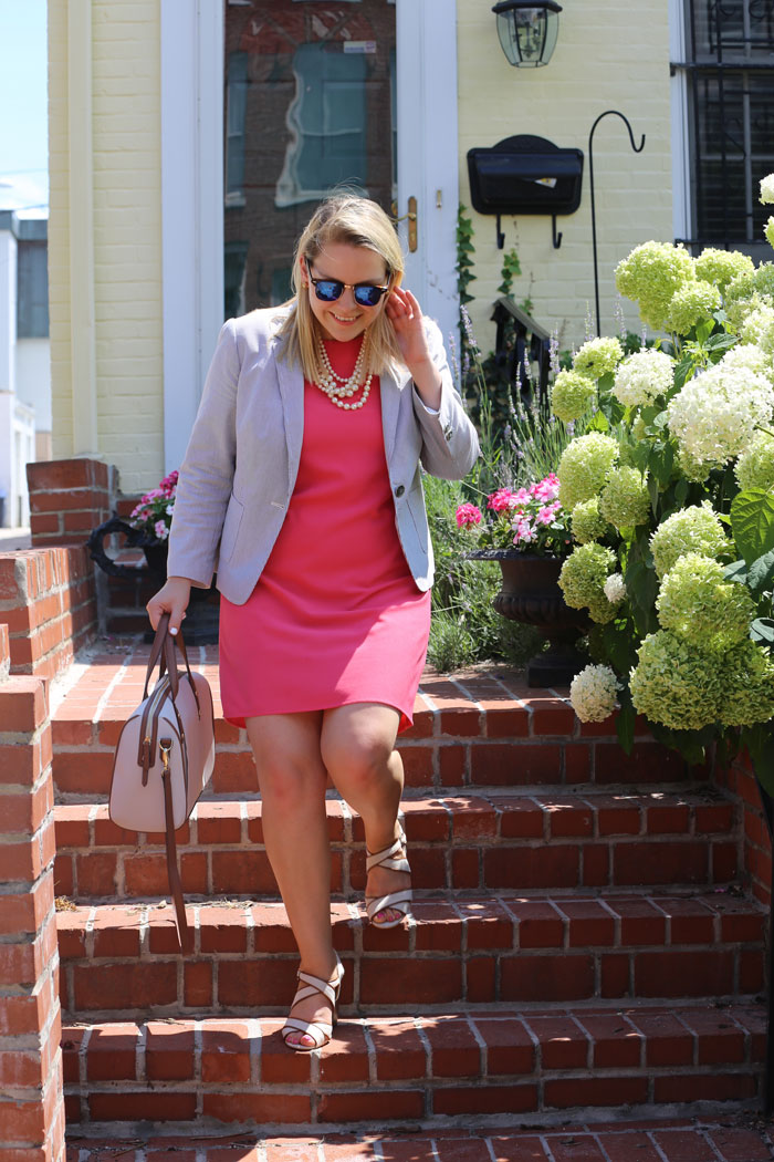What to Wear to Work in the Summer | @dcgirlinpearls