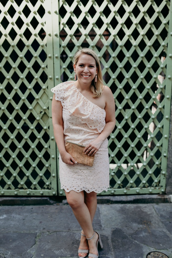 Summer Wedding Outfit | @dcgirlinpearls