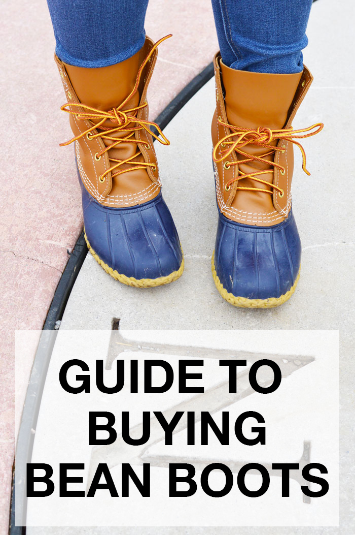 Guide to Buying Bean Boots | @dcgirlinpearls