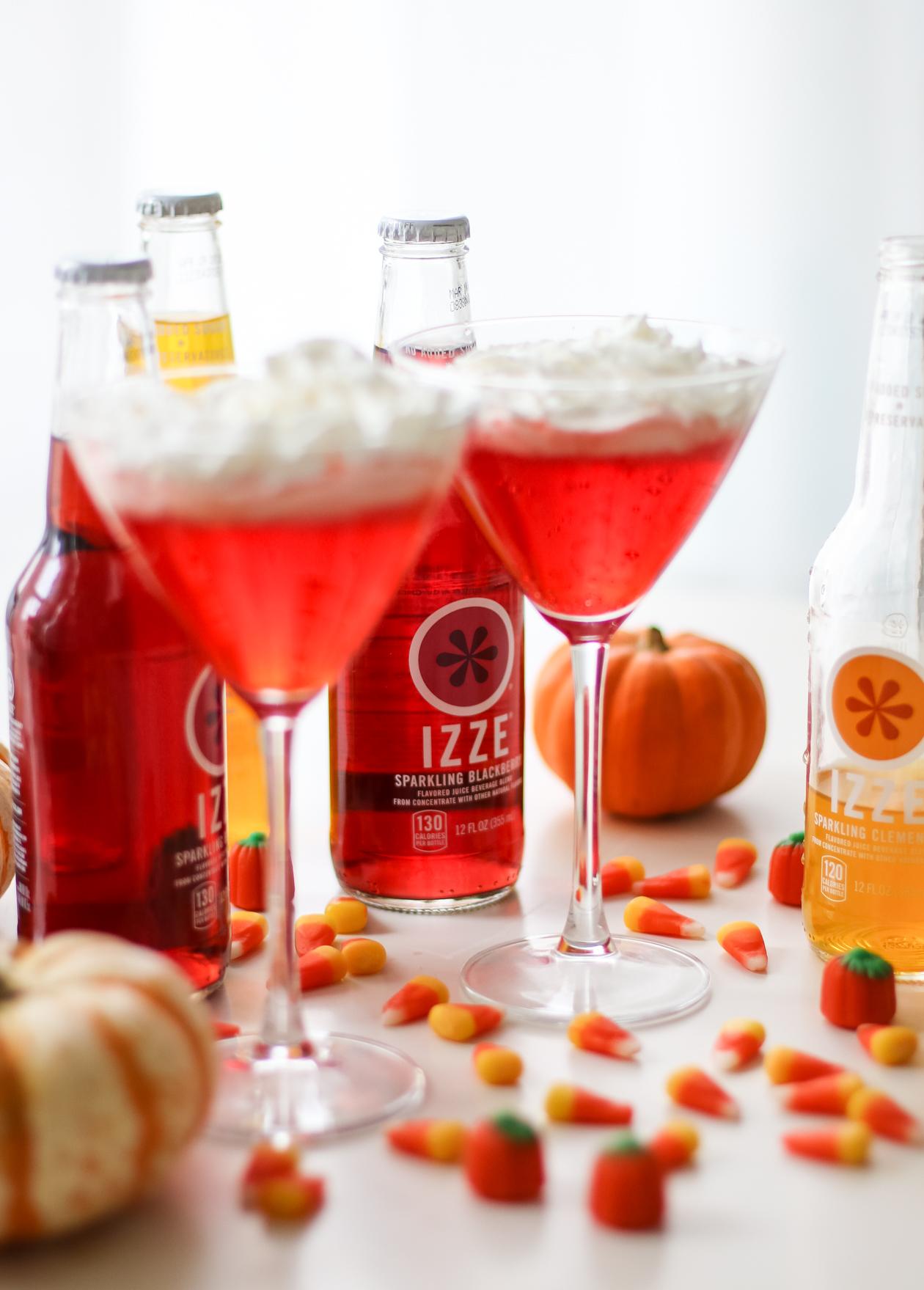 An IZZE Halloween | @dcgirlinpearls