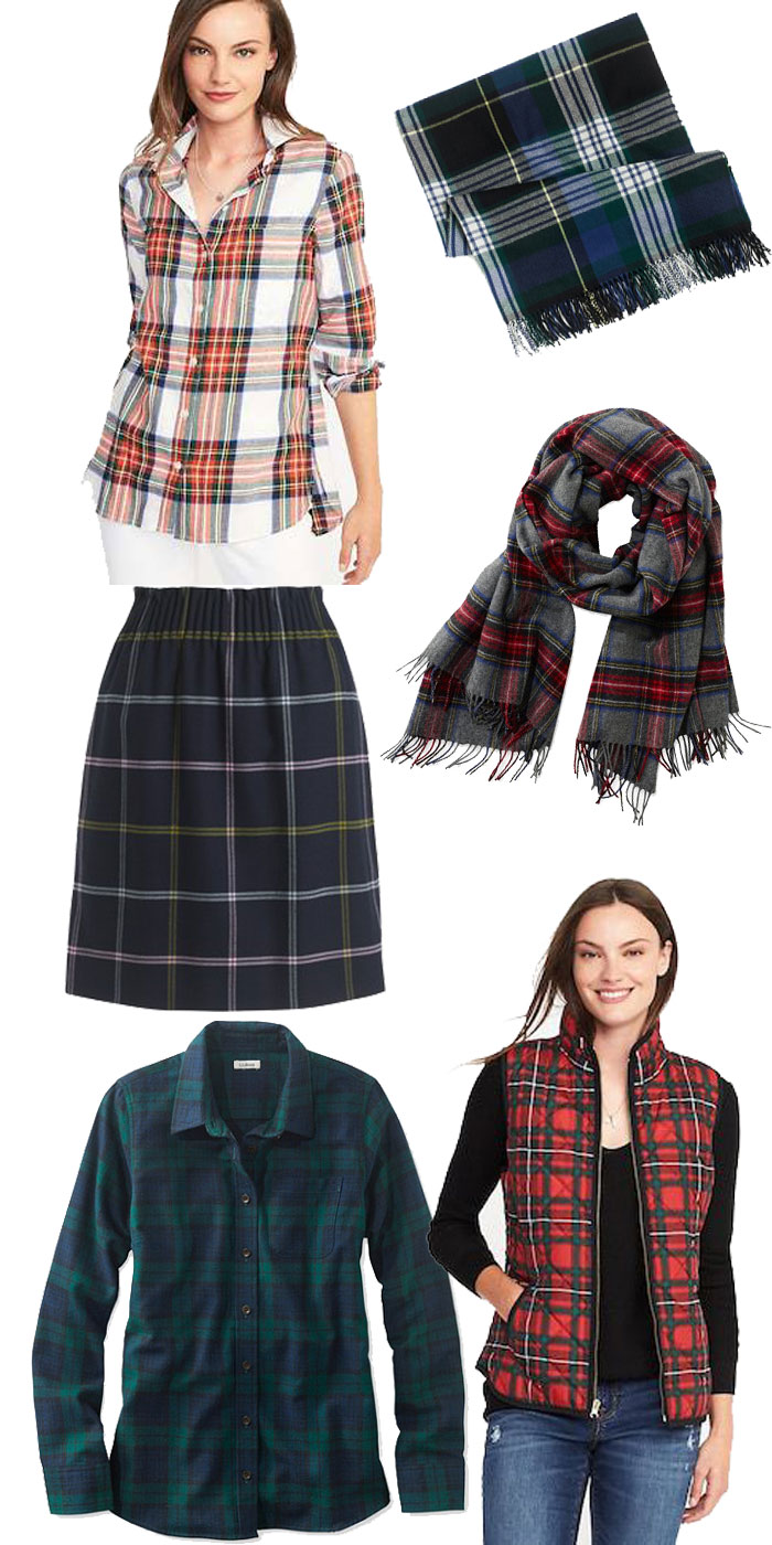 Plaid Pieces Under $50