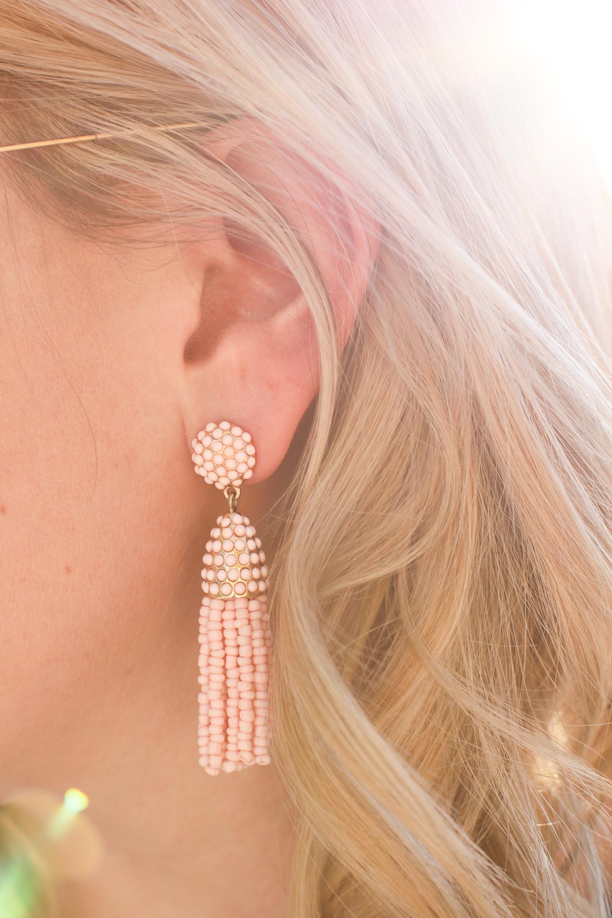 Baublebar Mini Pinata Tassel Earrings | @dcgirlinpearls